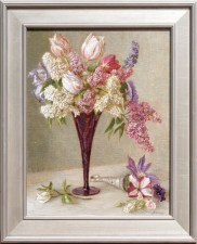 216051 Lilacs and Tulips