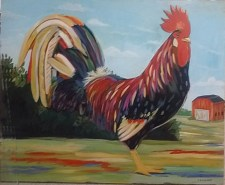 218114 Giant Rooster