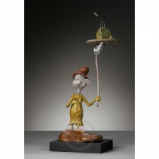 913112 Green Eggs & Ham Bronze Maquette