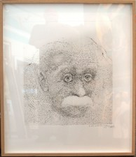 218577 Late Portrait of Einstein